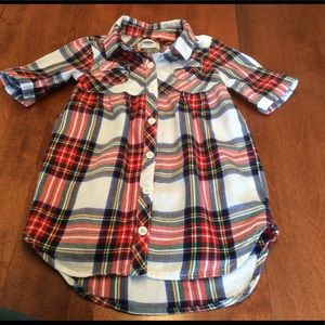 Old Navy flannel dress - size 2T
